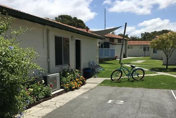 Beachside Chalets & House